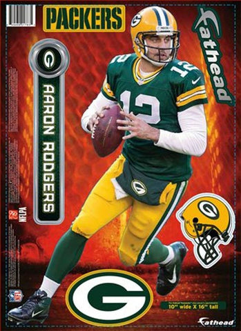 Green Bay Packers Aaron Rodgers Fathead
