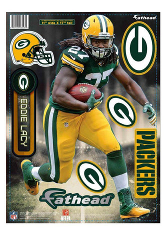 Green Bay Packers Eddie Lacy Fathead