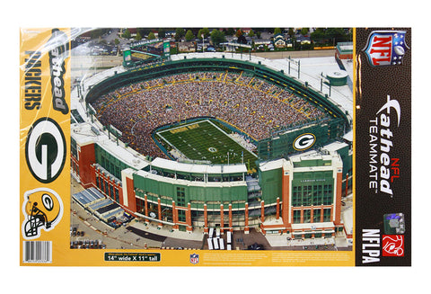 Green Bay Packers Lambeau Field Aerial Fathead Sticker
