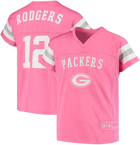 Green Bay Packers Aaron Rodgers Fashion Fan Gear Girls Top