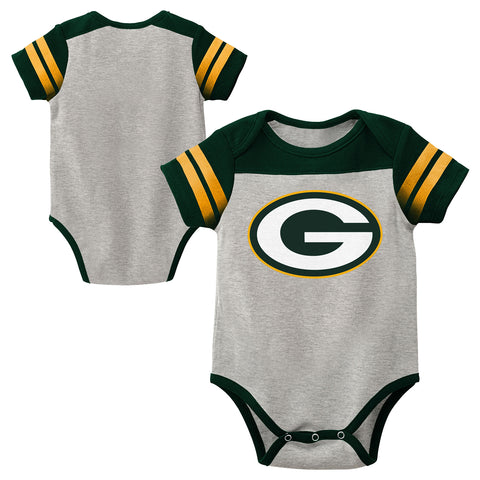 Green Bay Packers Lil' Blocker Baby Boys Creeper