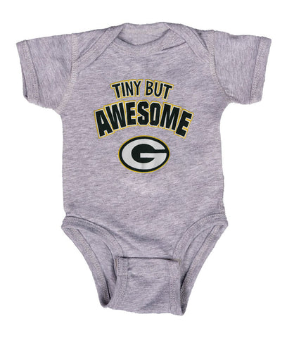 Green Bay Packers Tiny But Awesome Baby Boys Creeper