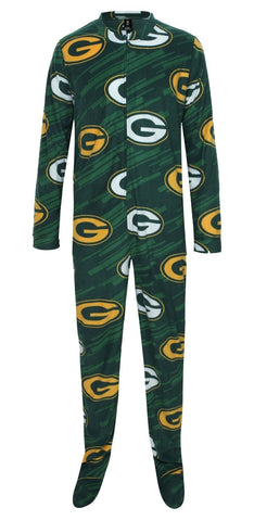 concept,sports,college,green bay packers,grandstand,grand,stand,union,suit,bodysuit,body suit,pajamas,pjs,sleepwear,loungewear,clothing accessories