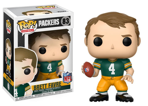 funko,pop,football,green bay packers,brett favre,vinyl,action,toy,figure,collectible