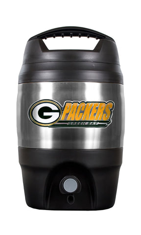 great,american,products,gap1,green bay packers,128,ounce,gallon,travel,keg,cooler,tailgate,tailgating,drinkware