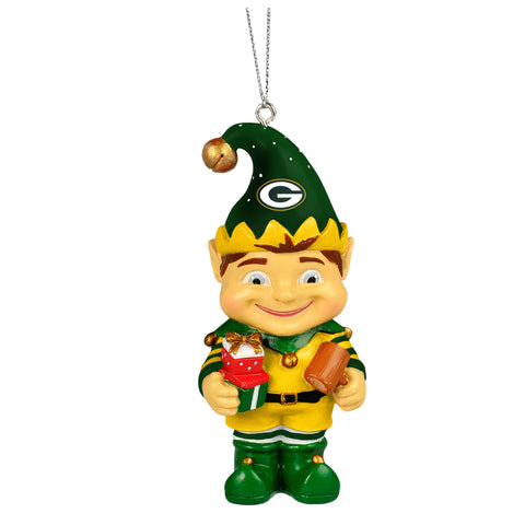 green bay packers,elf,ornament,nfl