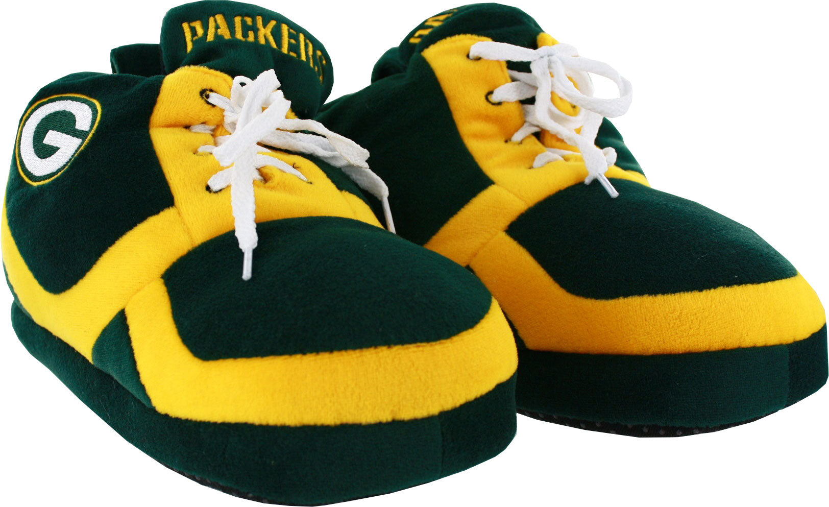 f96ebb9d990f Green Bay Packers 2015 Men s Sneaker Slippers – Green Bay Stuff