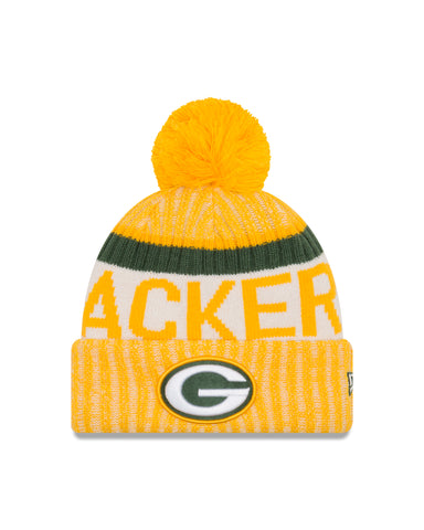 new,england,green bay packers,nfl,2017,on-field,on field,sideline,sport,knit hat,cap,headwear,clothing accessories,winter gear,beanie,skullie
