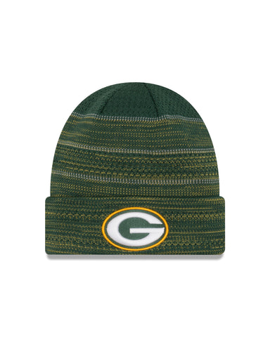 new,england,green bay packers,nfl,2017,on-field,on field,sideline,sport,knit hat,cap,headwear,clothing accessories,winter gear,beanie,skullie,TD