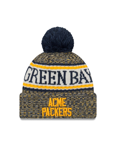 Green Bay Packers On Field Acme Throwback Youth Knit Hat