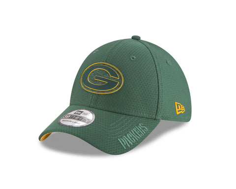 new era,cap,green bay packers,39thirty,3930,nfl,2018,training,camp,adjustable,flex fit,baseball cap,hat,headwear,clothing accessories