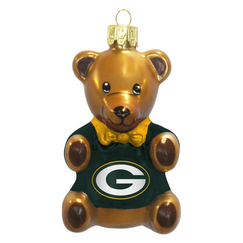 green bay packers,teddy,bear,ornament