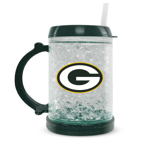 duckhouse,duck,house,green bay packers,juniors,freezer,mug,cup,drinkware,refreezable,drinks