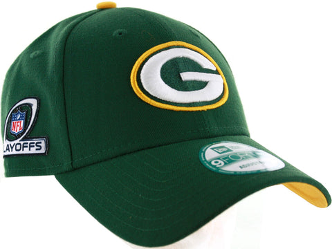 new era,9forty,green bay packers,2016,playoff,patch,adjustable,hat,snapback,snap back,headwear,baseball cap,clothing accessories