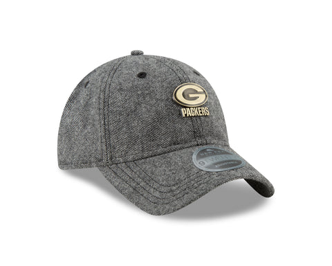 new era,green bay packers,9twenty,920,9 twenty,tweed,badge,baseball cap,hat,headwear,clothing accessories,flex fit,snapback,snap back