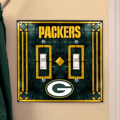 green bay packers,light,switch,plate,cover