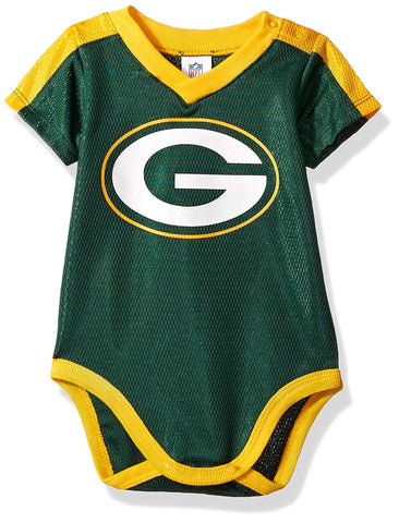 Green Bay Packers Baby Boys Dazzle Bodysuit