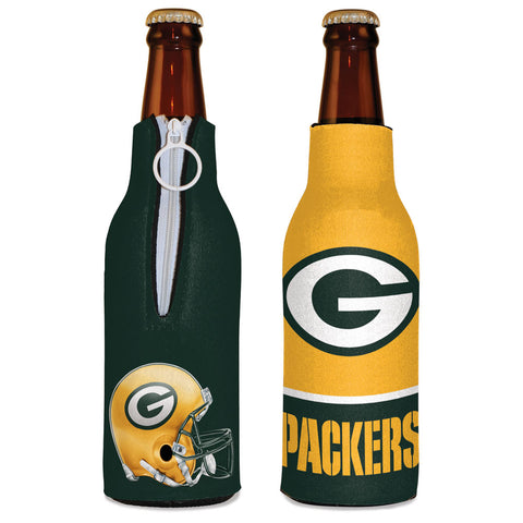 wincraft,win,craft,green bay packers,bottle,hugger,holder,insulator,koozie,coozy,barware,accessories