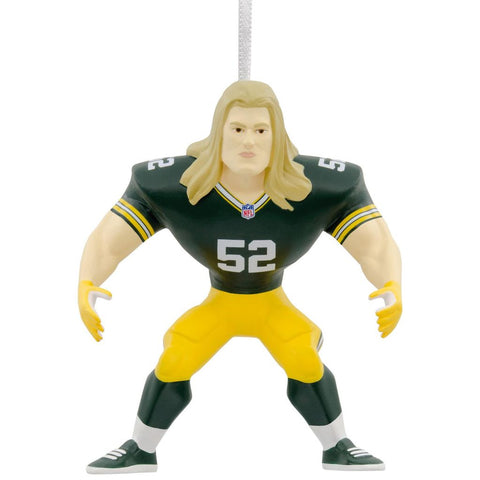 Green Bay Packers Clay Matthews Hallmark Ornament