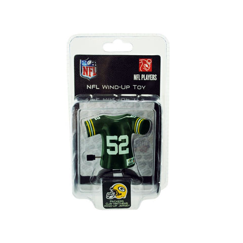 green bay packers,clay matthews,wind,up,toy