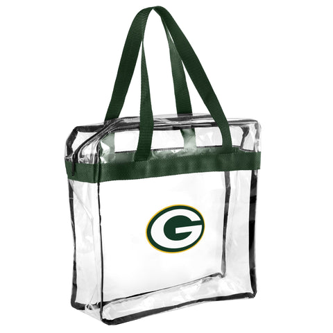 Green Bay Packers Clear Messenger Bag