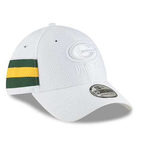 new era,green bay packers,39thirty,3930,on field,sidelines,color,rush,baseball cap,hat,headwear,clothing accessories