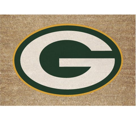 the,memory,company,green bay packers,colored,logo,doormat,door,mat,entrymat,floormat,floor,entry,house,décor,decoration