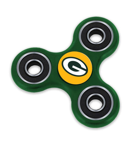 aminco,green bay packers,3-prong,3,prong,fidget,spinner,toy