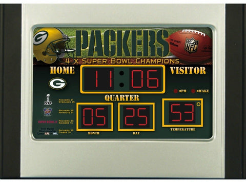 green bay packers,clock,packers,bedroom