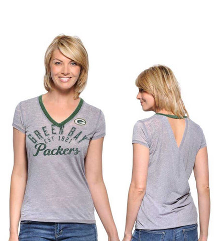 green bay packers,v-neck