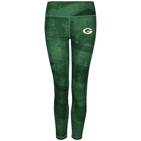majestic,vf imagewear,image wear,green bay packers,2016,leggings,yoga pants,women,womens,clothing accessories