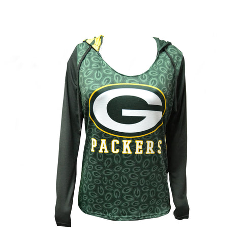 collect,concept,sports,green bay packers,hooded,top,t-shirt,tshirt,tee,shirt,clothing accessories