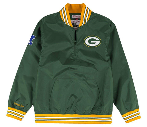 Green Bay Packers Endzone 1/4 Zip Pullover Jacket