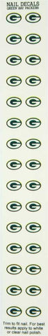 green bay packers,fingernail,decal