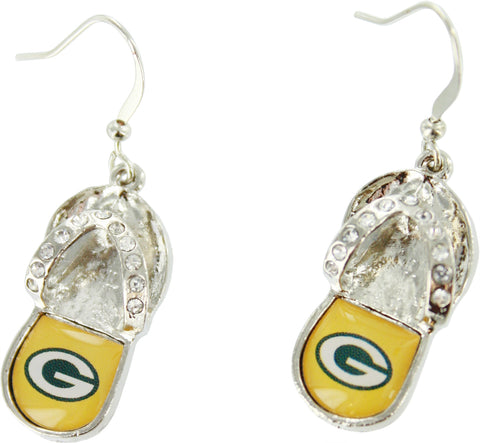 green bay packers,earrings,packers,jewelry
