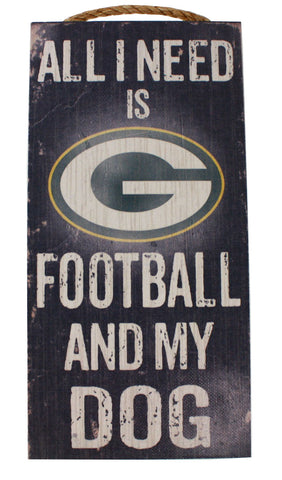 green bay packers,football,and,my,dog,sign