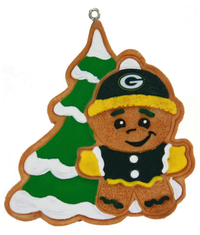 green bay packers,gingerbread,man,ornament