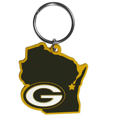siskiyou,green bay packers,state,logo,keychain,key,chain,lanyard,clothing accessories