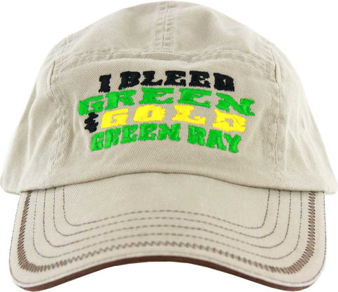 green bay packers,i,bleed,green,and,gold,hat