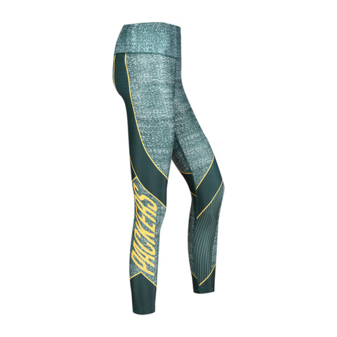 concepts sport,green bay packers,infuse,knit,sublimated leggings,pants,spandex,yoga,clothing accessories