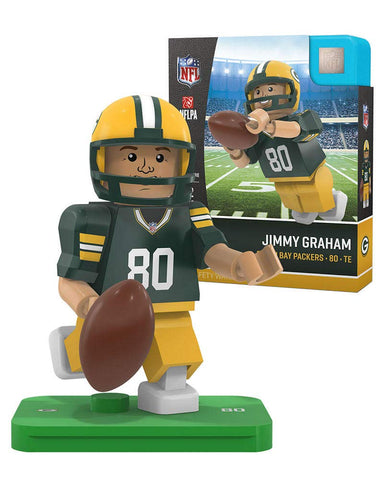 Green Bay Packers Jimmy Graham #80 Home Version OYO Minifigure