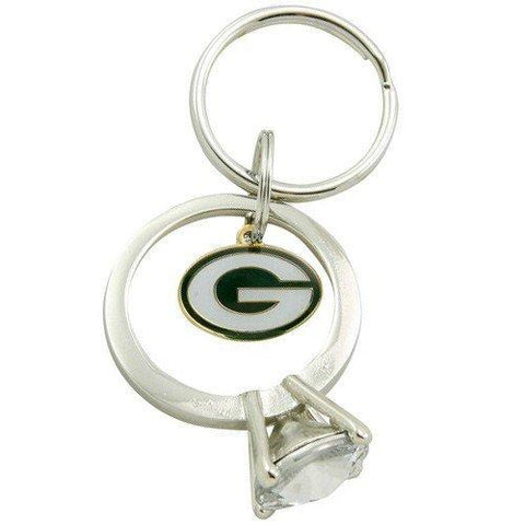 green bay packers,ladies,keychain