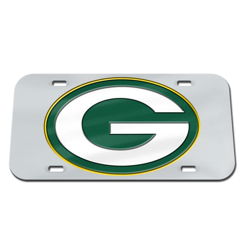 green bay packers,crystal,mirror,license plate