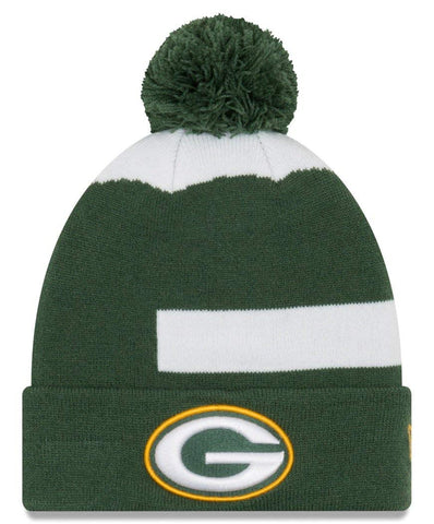 Green Bay Packers Logo Whiz 3 Cuffed Knit Hat
