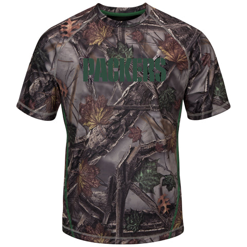 majestic,vf imagewear,green bay packers,the,woods,camo,camouflage,shirt,tshirt,tee,t-shirt,clothing accessories,tops