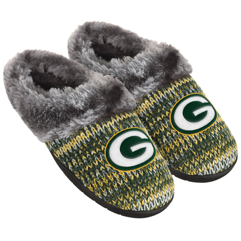 forever collectibles,team,beans,green bay packers,peak,slide,slippers,footwear,clothing accessories
