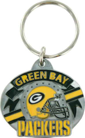 Green Bay Packers Pewter Team Design Keychain