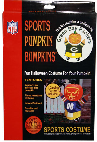 Green Bay Packers Pumpkin Bumpkin