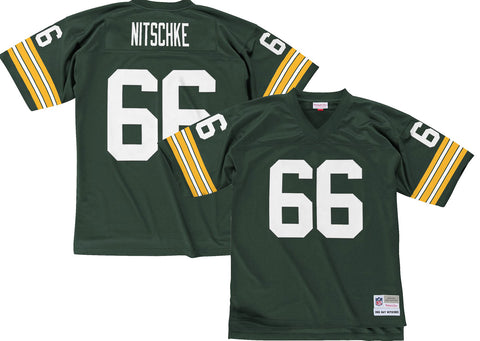 green bay packers,ray nitschke,replica jersey