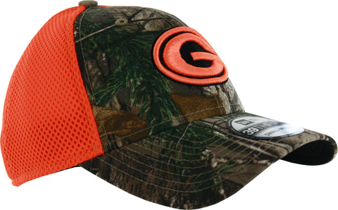 new era,green bay packers,39thirty,3930,39 thirty,realtree,real tree,neo,camouflage,camo,hunting,hat,cap,headwear,clothing accessories